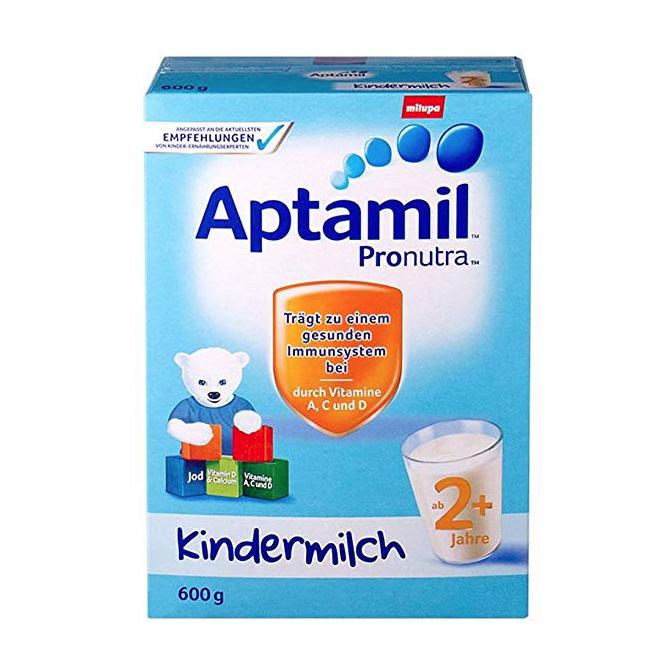 Aptamil 爱他美 婴儿奶粉 2+段 600g *2件