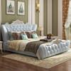 奥左 床 欧式真皮床 实木框架双人床 婚床 实木架子床 *6件 18613.92元(合3102.32元/件)