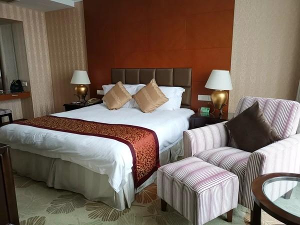 拥270°湖景,睡60㎡超大套房!苏州宝岛花园酒店2晚+2大1小自助早餐+1份中式家庭晚餐