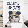 可爱卡通猫咪墙贴纸客厅沙发背景卧室床头墙壁装饰品贴画自粘墙纸 14.5元