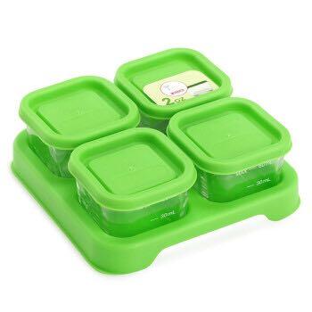 GreenSprouts 小绿芽  辅食盒 60ml*4