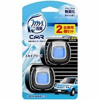 Febreze 纺必适 汽车出风口车载香水空气清新剂 蓝色 2ml*2 两瓶装 清新空气