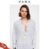 ZARA女装 撞色印花罩衫 09479255064 79元