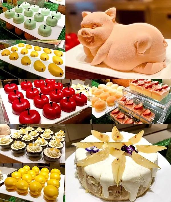 波龙鲍鱼畅吃,十一个档口吃遍全国!上海雅居乐万豪酒店都会尚膳餐厅网红主题自助晚餐