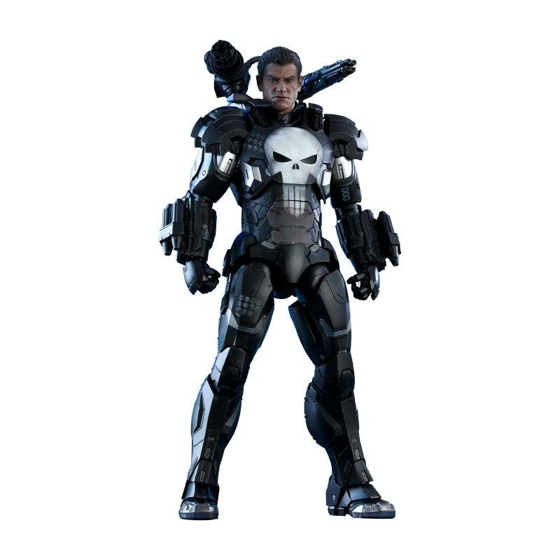 Hot Toys 漫威惩罚者(战争机器装甲) 1:6比例合金珍藏人偶