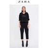 ZARA女装 撞色缉线及踝裤 08323900800 99元