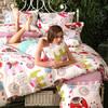 多喜爱家纺 全棉套件儿童卡通三/四件套床上用品 单人/双人床品件套 艾莉芬特乐园 艾莉芬特乐园 1.5米床单 199元