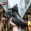 安踏男鞋运动鞋正品跑步鞋2019新款休闲高帮加绒保暖运动鞋男 369元