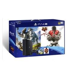 SONY 索尼 PlayStation4 Pro(PS4 Pro)游戏主机 大作贺岁套装 1TB