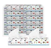 舒洁( Kleenex )抽纸纸巾 北欧系列软抽纸抽3层120抽 *12包 200mm*194mm/张(加大尺寸) *3件