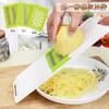 多功能土豆丝切丝器不锈钢切菜器厨房家用擦丝器刨丝器切片切菜器 3合1 9.8元