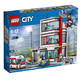 LEGO 乐高 城市系列 60204 城市医院(赠冰箱贴)
