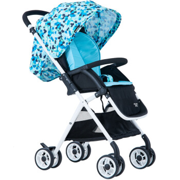 Huizhi 荟智 HC300-L307 高景观婴儿推车 迷彩蓝