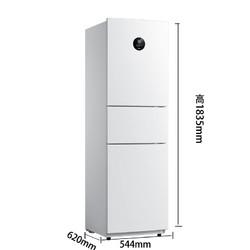 midea 美的 BCD-230WTPZM(E) 230升 三门冰箱