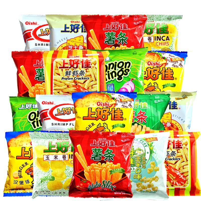 Oishi 上好佳 薯片鲜虾片 40包