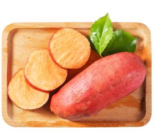 福建六鳌红薯 单果500g-750g 4.5kg装