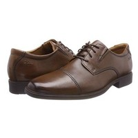 中亚Prime会员:Clarks Tilden Cap 男士休闲皮鞋