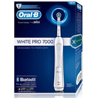 绝对值 : BRAUN 博朗 Oral-B 欧乐-B Pro 7000 蓝牙智能电动牙刷 +凑单品