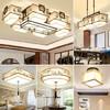送安装:HD 新中式中国风客厅卧室餐厅灯具套装 三室二厅五件套 2599元包邮