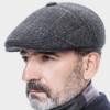 缔佳 中老年帽子棉帽羊毛呢护耳加绒鸭舌帽男帽 39元(需用券)
