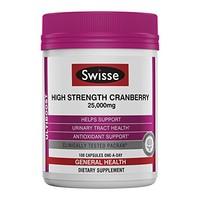 Swisse 营养补充剂 蔓越莓胶囊 100粒