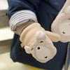 0-1-2-3岁儿童男童手套保暖加绒小童冬季小孩宝宝手套可爱男童 29元