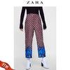 ZARA 新款 女装 几何印花长裤 08279817610 79元