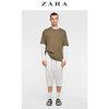 ZARA 00706331250 男装 撞色质感休闲短裤 59元