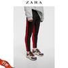 ZARA新款 男装 条纹带饰软质牛仔裤 05862366065 99元