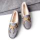 考拉海购黑卡会员:Ozwear 女士羊皮毛一体豆豆鞋 ¥225+¥21.39含税包邮(约¥247)