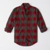Abercrombie & Fitch 242177 男士法兰绒格子衫