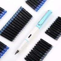 芮翔 钢笔墨囊 100支 赠1支正姿钢笔