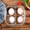 iCook 三分隔高硼硅玻璃饭盒 720ml+小麦秸秆餐具 21.8元包邮(需用券)