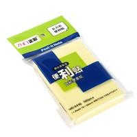 ZNCI 正彩 黄色便利贴 76*50mm 100张/1本
