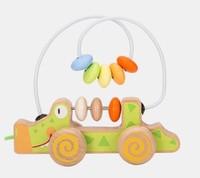 淘宝心选 婴幼儿木质绕珠 小拉车