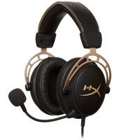 双11预售:Kingston 金士顿 HyperX Cloud Alpha 阿尔法 黑金版 游戏耳机