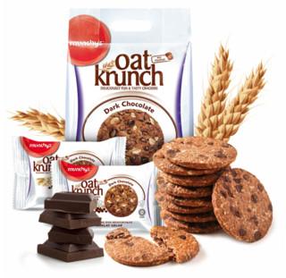 munchy's 马奇新新 黑巧克力豆燕麦饼干 416g *4件