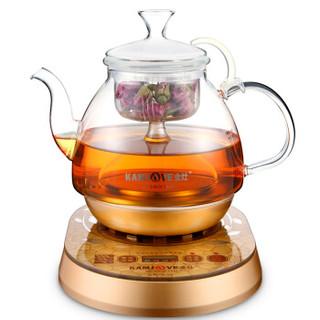 金灶(KAMJOVE) 全自动煮茶器 煮黑茶普洱 电热煮茶壶 煮水玻璃壶 A-55