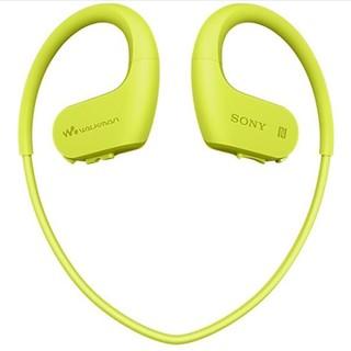 SONY 索尼 NW-WS623 头戴式MP3播放器 4GB 柠檬绿
