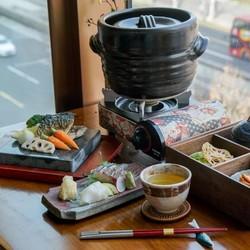 M6和牛/鱼宴定食,9道式会席料理!上海万达瑞华酒店日料套餐
