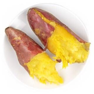 山东特产 黄心蜜薯 沙地红薯 地瓜 约2.5kg 新鲜蔬菜 *16件
