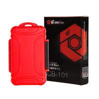 锐玛(EIRMAI)CB-101 单反相机存储卡盒 SD CF MSD TF卡盒 收纳盒 红色 *2件