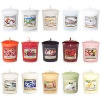 Yankee Candle Votive Value 15支Votive香薰蜡烛套装,流行香味混装