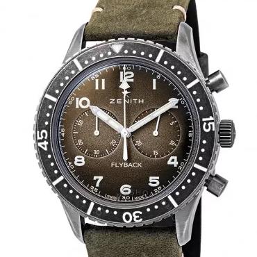 ZENITH 真力时 Pilot TIPO CP-2 飞行员系列 11.2240.405/21.C773 男士机械腕表