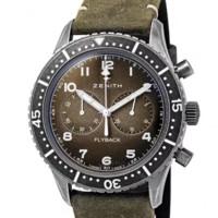 银联专享 : ZENITH真力时TIPO CP-2飞行员系列11.2240.405/21.C773男士机械腕表