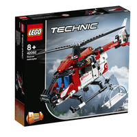 LEGO 乐高 机械组 42092 救援直升机 *2件