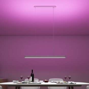 Yeelight 易来 皓石系列 YLDL01YL LED带彩色氛围光智能吊灯 33w