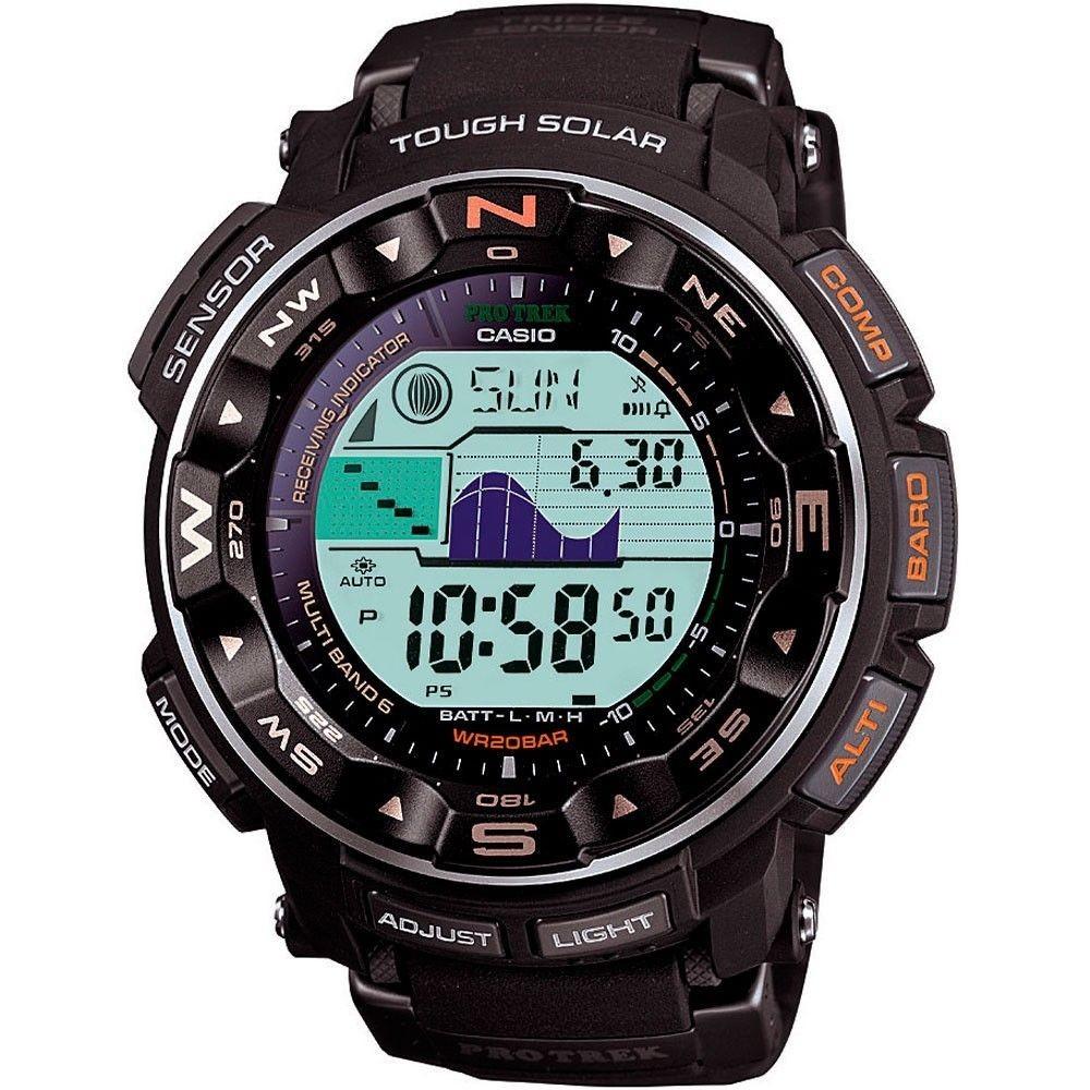 CASIO 卡西欧 Pro Trek系列 PRW2500R-1 男士太阳能登山表