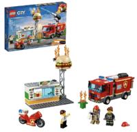 网易考拉黑卡会员:LEGO 乐高 City 城市系列 60214 汉堡店消防救援