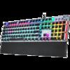 AULA 狼蛛 F2088 旗舰电镀版 机械键盘 (混光、国产红轴)